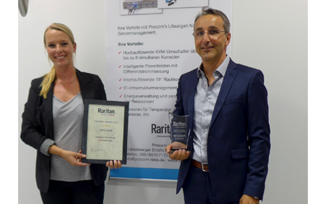 Procom GmbH bekommt Auszeichnung