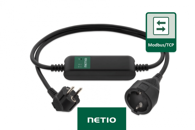 Netio PowerCable Modbus 101F