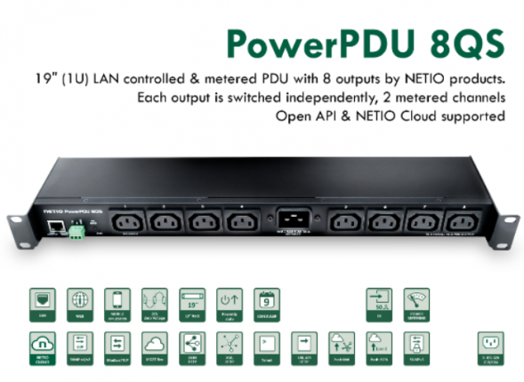 Netio Power PDU 8QS