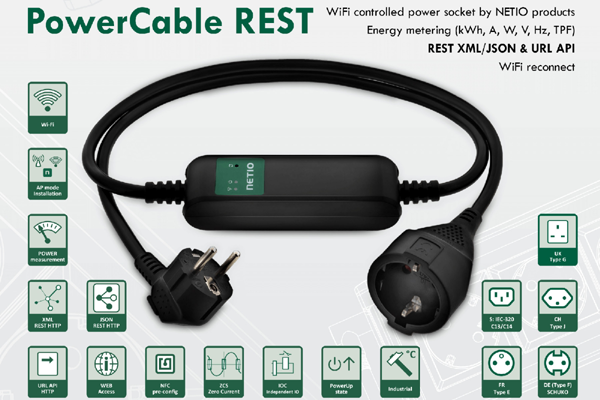 Procom PowerCable REST 101x