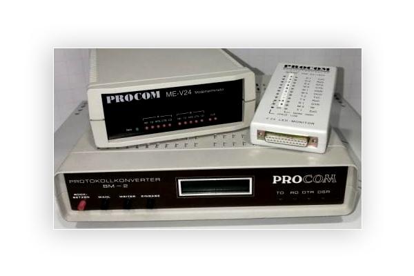 serielle Konverter von Procom GmbH ab 1985