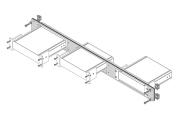 Guntermann und Drunck Device Carrier 1HE 3x105-26